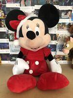 Giant Large Minnie Mouse Christmas Disney Plush Soft Toy Teddy
