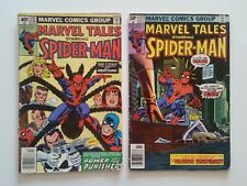 Marvel Tales Featuring Spiderman (#112 & #121) 1980