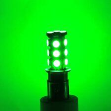 (10pcs) x BAY15d Green LED 10-30V Boat Marine Navigation Signal Light Lamp Bulb