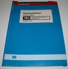 Microfich Audi V8 D11 ab Baujahr 1989 5 Gang Schalt Getriebe 016 Quattro 01/1990