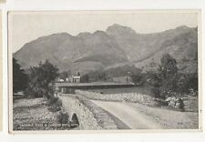 Langdale Pikes & Dungeon Ghyll Hotel Vintage Postcard 298a
