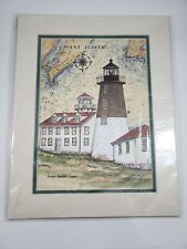 Point Judith RI Photo. The Collectors Great American Lighthouses Donna Elias