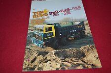 Ter Berg F1900 F2000 F1100 F1350 SF1350 F1150 Truck Dealers Brochure DCPA4