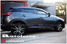 HIC MAZDA CX-3 CX3 2015-2019 WEATHER SHIELD DOOR WINDOW RAIN VISOR WEATHERSHIELD