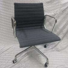 Refurbished Herman Miller Eames Aluminum Group Management Chair  - Light Blue