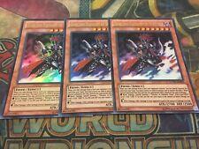 Yu-Gi-Oh Gorz the Emissary of Darkness LCYW-EN044! Ultra Rare! X3!