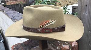 Akubra Imperial Quality Snowy River Australian Bush Hat Size 57