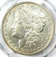 1893 Morgan Silver Dollar $1 Coin. Certified PCGS XF Detail (EF) - Rare Date