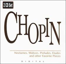 Chopin: Nocturnes, Waltzes, Preludes, Etudes and other Favorite Pieces (CD,