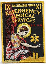 "E.M.S. - HEALING ANGEL  (3.5"" x 5"" size) fire patch"