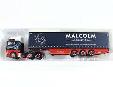 Malcolm UK MAN TGX XXL 6x2 Curtainside 3 Axle Tractor Truck WSI 1:50 02-1141