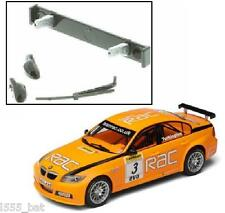 New Scalextric W9753 Rear Wing Spoiler, Mirrors & Wiper For BMW 320si C2909