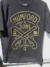"CLASSIC """"  MUMFORD & SONS IN LONDON """" TEE-SHIRT SIZE MEDIUM 100% COTTON"