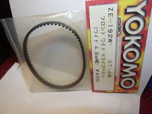 yokomo Gt 4 Front Drive Belt 4.8mm ze192w