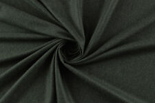 Flanella misto lana grigio scuro STOFFA AL METRO TESSUTO A METRAGGIO