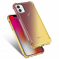 Case For iPhone 11 /11 Pro Max Shockproof Clear Ultra Slim TPU Soft phone Cover
