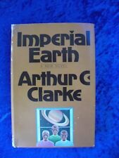 """IMPERIAL EARTH"" by Arthur C. Clarke   Science Fiction Book Club Edition 1976"