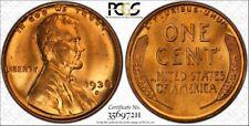 1938-S/S 1C PCGS MS66RD RPM FS-501 #11 TrueView - RicksCafeAmerican.com