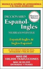 Diccionario Espanol-Ingles, Merriam-Webster by Merriam-Webster, Editors in Used