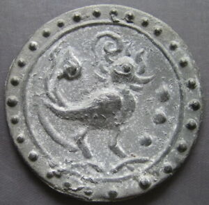18th circa.--SOUTHEAST ASIA--ANCIENT COIN---HANSA BIRD---70 mm.---heavy coin