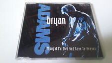 "BRYAN ADAMS ""THOUGHT I'D DIED AND GONE TO HEAVEN"" CD SINGLE 3 TRACKS"