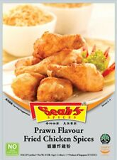 Seah's Spices Singapore Recipe for Prawn Flavour Fried Chicken Spices 42g