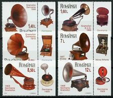 Romania Stamps 2019 MNH Gramophones Romanian Collections 6v Set