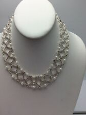$80 Anne Klein Madison Drama Necklace A117