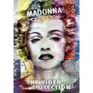 "MADONNA ""CELEBRATION (BEST OF)"" 2 DVD 47 TRACKS NEU"