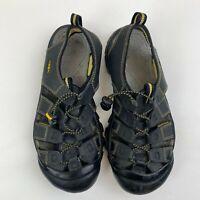 Keen Newport H2 Black Leather Men's size 11 Waterproof Hiking Sandals