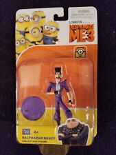 BALTHAZAR BRATT DESPICABLE ME 3 POSEABLE FIGURE MINT TREY PARKER NEW TOY (#9000)