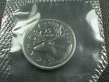 CANADA    25  Cents   1969   BRILLIANT  UNCIRCULATED   ,   Mint  set