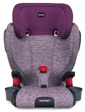 Britax Highpoint Belt-Positioning Child Safety Booster Car Seat Mulberry New