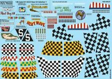 WARBIRD DECALS 1/48 P51D NOSE ART, KILL MARKS/CHECKERS FOR 10 AIRCRAFT | 148029