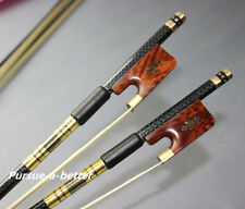 1pc Brand NEW PRO light carbon fiber 4/4 cello bow copper parts snake wood frog
