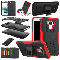 For Asus Zenfone Max Plus Pro M1 ZB570TL Rugged Stand Shockproof Hard Case Cover