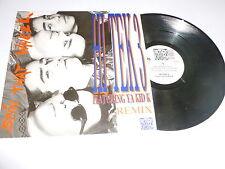 "HI TEK 3 featuring YA KID K - Spin That Wheel - 1990 UK 12"" vinyl single"