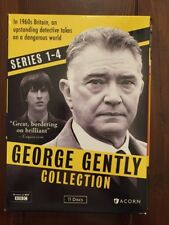 GEORGE GENTLY COLLECTION: SERIES 1-4 (2013) (DVD) Very Good Martin Shaw 2,3