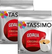 2 x Packs Tassimo Gevalia Original Mellanrost T Discs Pods 32 T Discs 32 Drinks