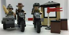LEGO Set - Indiana Jones - 7620 - Motorcycle Chase - Parts & Minifigures 100%