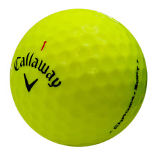12 Callaway Chrome Soft Yellow AAA/Standard Grade Golf Balls *Free Tees!*