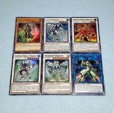 Yugioh Yusei Fudo Stardust Dragon Assault Warrior Junk Speeder Deck 6 Card Set