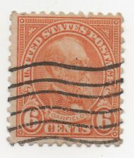 1927 US Scott #638 Garfield 6 Cent Used