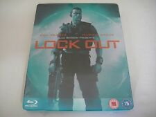 Lockout (2012) - Limited Steelbook Blu-Ray Region B | New | Guy Pearce