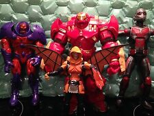MARVEL LEGENDS HULKBUSTER, GIANTMAN, HOBGOBLIN, RED SKULL BAF FIGURES