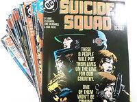 59 x SUICIDE SQUAD zwischen # 1 - 66  ( US DC Comics )