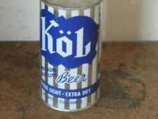 KOL. BEER.  REAL BEAUTY. 11 OZ. FLAT TOP