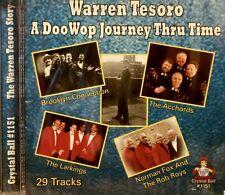 WARREN TESORO (N. Fox/Roboys, Acchords)'A Doo Wop Journey' - 29 Tracks-CBR#1151