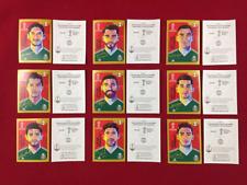 Panini Russia 2018 World Cup 18 Mexico Edition 9 Coca Cola Stickers CC set