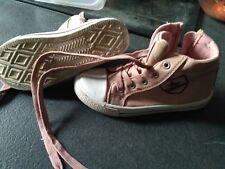 Paire de chaussure montante Rose ENFANT Type Converse / Pointure 30 / Fille